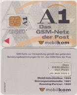 12/ Austria; Mobilkom, Unbroken Old GSM SIM Card - Autriche
