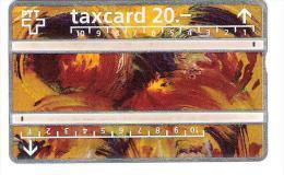 Schweiz - PTT - P18 - Taxcard - 20 CHF - 208A - Suisse