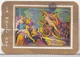 Romania Old 1974 Small Calendar Rompresfilatelia - Calendars