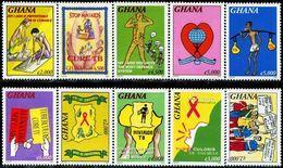 GHANA 2005 AIDS HIV - Medicina