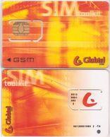 17/ Slovakia; Globtel, Unbroken Old GSM SIM Card - Slovaquie