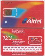 18/ Spain; Airtel, Unbroken Old GSM SIM Card - Espagne
