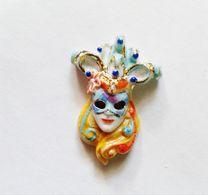 Fève Masque Carnaval Filet Or - Fèves