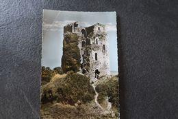 CPSM - KERSAINT (29) - Ruines Du Château De Tremarzan - 1962 - Kersaint-Plabennec