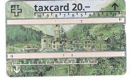 Schweiz - PTT - P49 - Taxcard - 20 CHF - Lavertezzo (TI) - 601G - Suisse