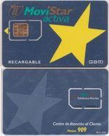 22/ Spain; Telefonica, Unbroken Old GSM SIM Card - Telefonica