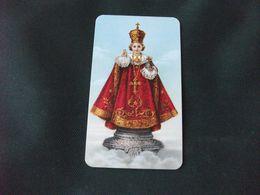 SANTINO HOLY PICTURE  SPAGNOLO BAMBIN GESU' DI PRAGA LIPPI 18 NB - Religion &  Esoterik