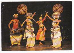 Traditional Dancers Kandy Sri Lanka Ceylon VOIR TIMBRE Rufous Babbler Oiseau - Sri Lanka (Ceylon)