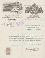 SEINE: GUILBERT-MARTIN, Manufacture De Tubes Verre & Cristal, Emaux, R. Genin à St Denis / L. De 1910 - Autres