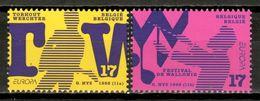 Belgium 1998 Bélgica / Europa CEPT National Festivals Music MNH Música Festivales / Kz11  37-7 - 1998