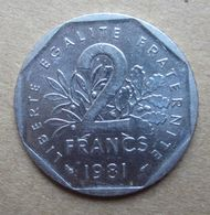 1981 FRANCIA Seminatrice 2Franchi - Circolata - France