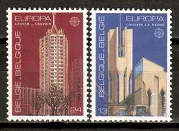 Belgium 1987 Bélgica / Europa CEPT Architecture Monuments MNH Arquitectura Architektur / Kz02  37-17 - Europa-CEPT