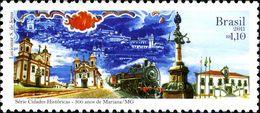 Bresil Brasil 3142 Gare Ferroviaire, Train, Locomotive - Trains