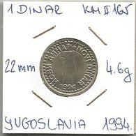 G3 Yugoslavia 1 Novi Dinar 1994.  KM#165 - Joegoslavië