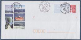 Entier Postal Luquet Oblitéré Et Illustré Portraits De Région Lège-Cap Ferret La France à Voir 1er Jour 18.9.04 - Postwaardestukken