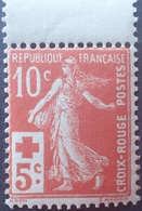 R1319/132 - 1914 - TYPE SEMEUSE - CROIX ROUGE - N°147 NEUF** BdF - Cote (2020) : 100,00 € - Francia