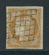 FRANCE N° 1 Obl. - 1849-1850 Ceres