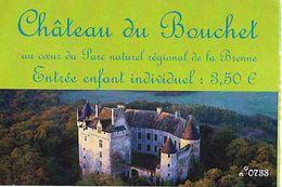 Château Du Bouchet - Tickets - Vouchers
