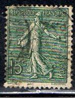3FRANCE 996 // YVERT 130 I  // 1903-24 - Francia