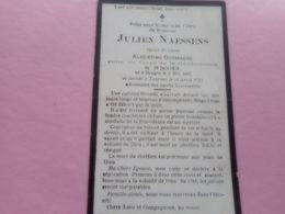 D.P.-GENDARME-JULIEN NAESSENS-°BRUGES 3-5-1897-ENTRE CORPS GENDARMERIE 19-7-1919+TOURNAI 16-4-1921 - Religion &  Esoterik