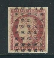 FRANCE N° 6 A Obl. GP Réparé - 1849-1850 Cérès