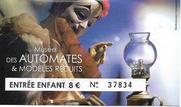 Musée Des Automates & Modèles Réduits - Tickets - Vouchers