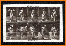 French Risque Women JA Serie 014 015 Stock Card Photo Postcard Original 1910s Ca 2472.LCaP40 - Nus Adultes (< 1960)