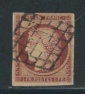 FRANCE N° 6 B Obl. - 1849-1850 Cérès