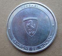2004 FERRARI Campione Del Mondo  Medaglia Circolata - Autres