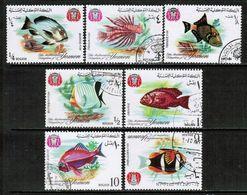 YEMEN---Kingdom  Mi. # 323-9 VF USED (Stamp Scan # 699) - Yemen