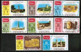 YEMEN---Kingdom  Mi. # 476-83 VF USED (Stamp Scan # 699) - Yemen