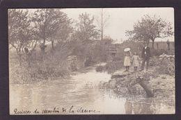 CPA Côte D'Or 21 Is Sur Tille Carte Photo Moulin à Eau Circulé - Is Sur Tille