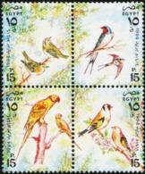 EGYPT 1994 New Year Birds Animals Fauna MNH - Otros