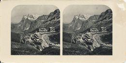 Stereo, Switserland, Scheidegg, Wetterhorn, No. 59 - Visores Estereoscópicos