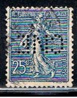 4FRANCE 001 // YVERT 132 (PERF.=CNE)  // 1903-24 - Francia