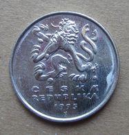 1995 CECOSLOVACCHIA Leone Araldico 5 Korun - Circolata - Checoslovaquia