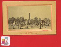 Très Jolie Chromo Circa 1900 Paris Place De La Concorde Obelisque Luxor Egypte - Chromos