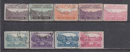 Bulgaria 1925-29 - Timbres Pour Letters Par EXPRES, YT 1/9, Obliteres - Used Stamps