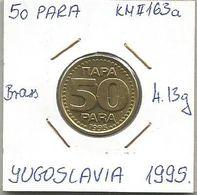 G4 Yugoslavia 50 Para 1995. KM#163a - Joegoslavië