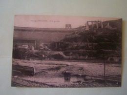 EGUZON (INDRE) BARRAGE EN CHANTIER. RIVE GAUCHE. 101_9982GRT - Francia