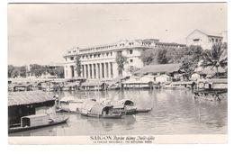 Vietnam - Viet Nam - Saigon - La Banque Nationale - Old Card With Stamp Timbre - Vietnam