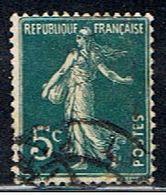 4FRANCE 005 // YVERT 137  I  // 1907-20 - Francia