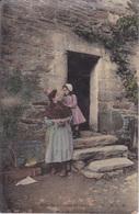 GRANDE COMME MAMAN - FERME DU CENTRE - POSTEE A TOURS INDRE ET LOIRE - Folclore