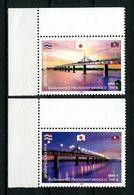 LAOS 2006 N° 1638/1639 ** Neufs MNH Superbes Pont De L' Amitié II Drapeaux Laotiens Japonais Thailandais - Laos