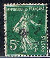 4FRANCE 008 // YVERT 137 IIA // 1907-20 - Francia