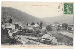 Cpa: 70 LES VOSGES OCCIDENTALES - SERVANCE (ar. Lure) Vue Générale, Le Centre (Gare, Train) 1914 N° 10753 - Autres Communes