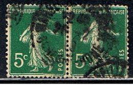 4FRANCE 009 // YVERT 137X2 // 1907-20 - Francia