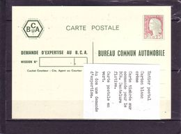 Marianne De DECARIS - Entier Postal  - Vert - Dentelure Fictive En Vert - - 1960 Maríanne De Decaris