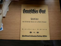 Deutsches Gut Unbine 78 Pages - Livres, BD, Revues
