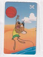 GREECE - Looney Tunes/Speedy Gonzales, Amimex Prepaid Card 3 Euro, Tirage 2000, Mint - Disney
